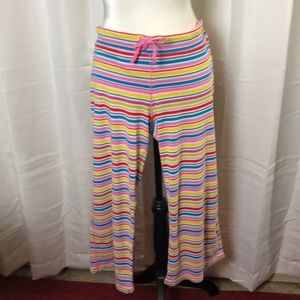 PINK Victoria's Secret Stripe Pajama Pants